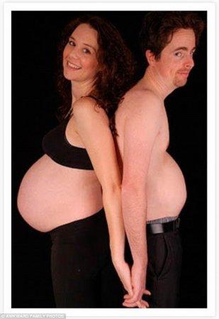 почти беременный