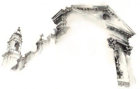 стена театра