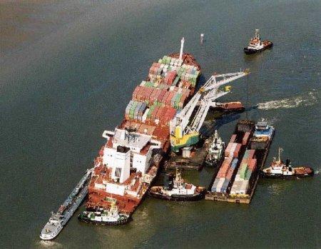 спасение тонущего судна
