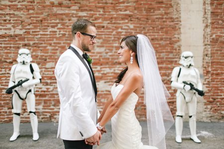 Необычная свадьба в стиле звездных войн