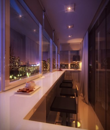 креативный балкон