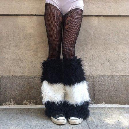 пухнастые ножки