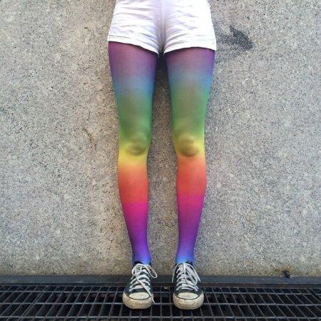 ноги-радуга