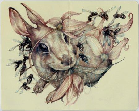 Кролик и пчелы