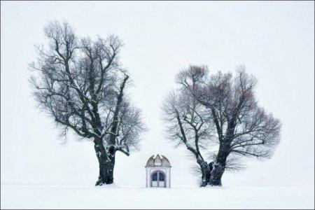 церквушка зимой