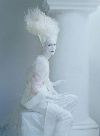 белый призрак