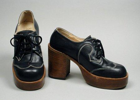 Старинная мужская обувь