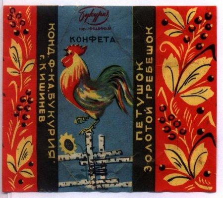 Как выглядели конфеты в СССР