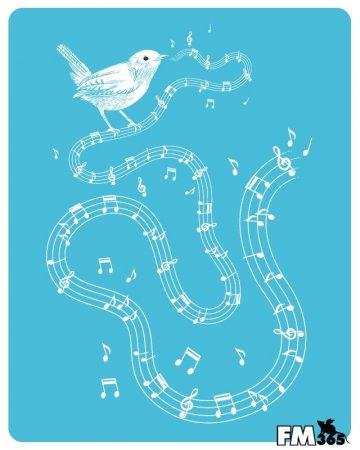 Музыкальная птичка
