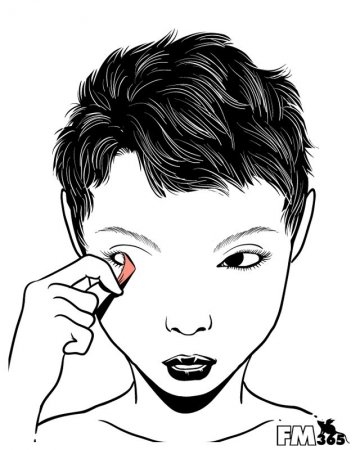 Снимаем макияж