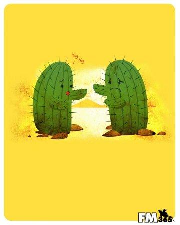 Печальные кактусы
