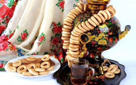 Чаепитие с баранками