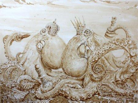 Король и королева осьминогов