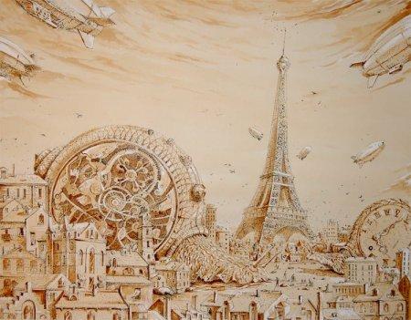 Париж, другой вид
