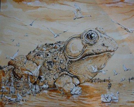 Город-жаба