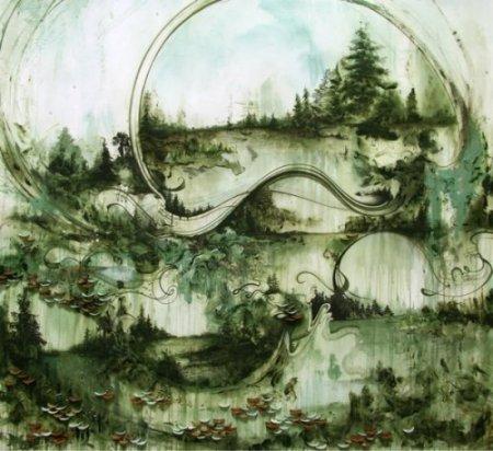 Лес в стекле