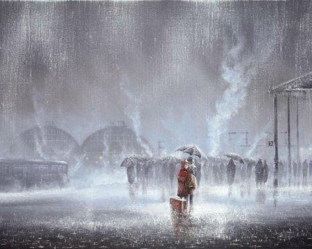 Прощание под дождем