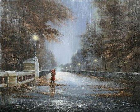 Нежность под дождем