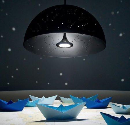 Лампа с созвездиями