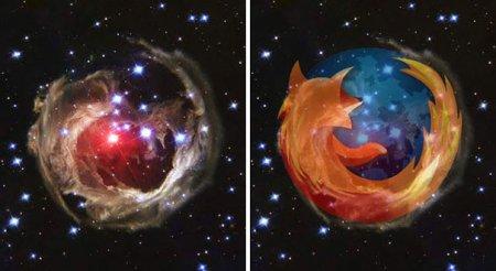Космос и Firefox
