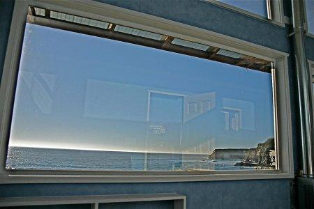 вид из окна дома на колесах