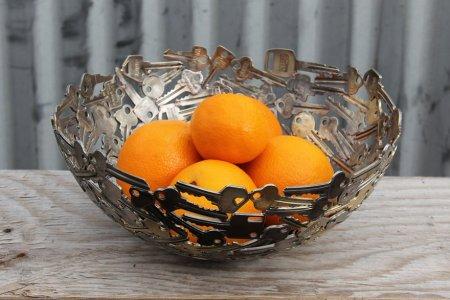 Тарелка для фруктов из ключей