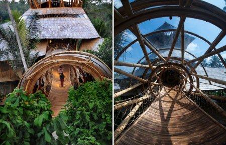 мосты из бамбука