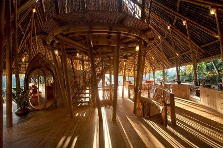 бамбуковая лестница