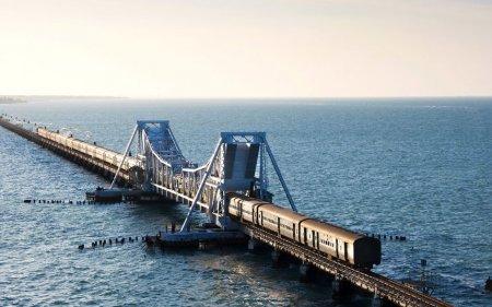 Мост Памбан, Индия