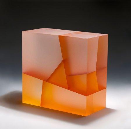 квадрат из стекла