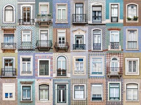 окна в плитке