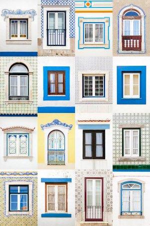 окна с плитками