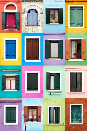 окна в ставнях