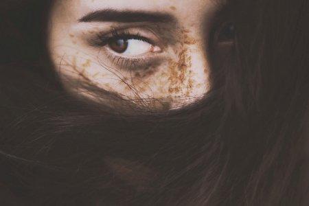 кареглазые глаза