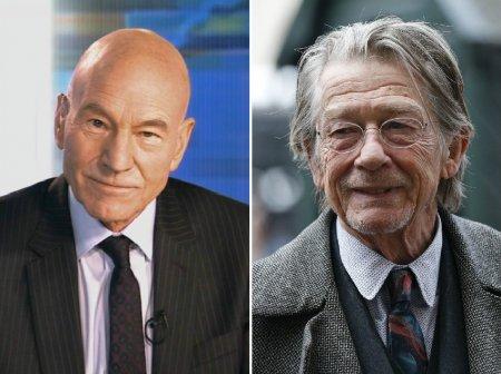 Патрик Стюарт и Джон Херт — 74 года