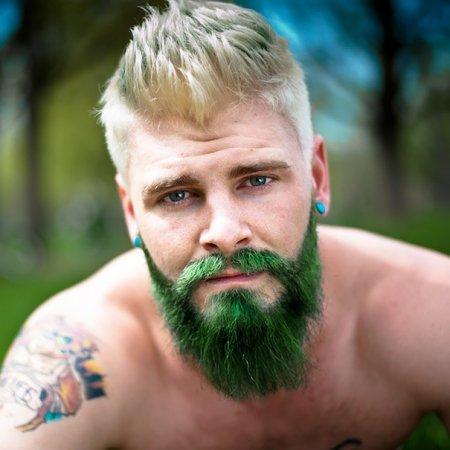 зеленая борода