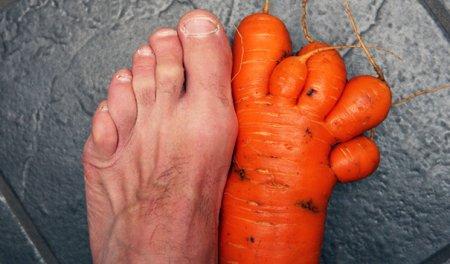 Морковка-нога