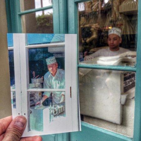 Луизиана. Кафе дю Монд в Новом Орлеане