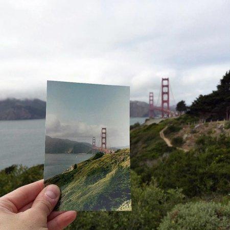 Калифорния. Мост Золотые Ворота