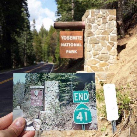 Вход в Йосемитский Национальный Парк