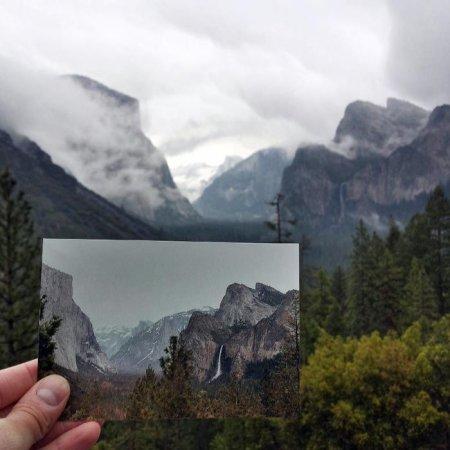 Йосемитский Национальный Парк. Tunnel View