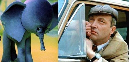 «38 попугаев», 1976 год. Слоненок — Михаил Козаков