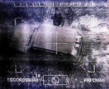 Джохар Дудаев за секунду до смерти, 21 апреля 1996 года. Снимок из управляемой ракеты.