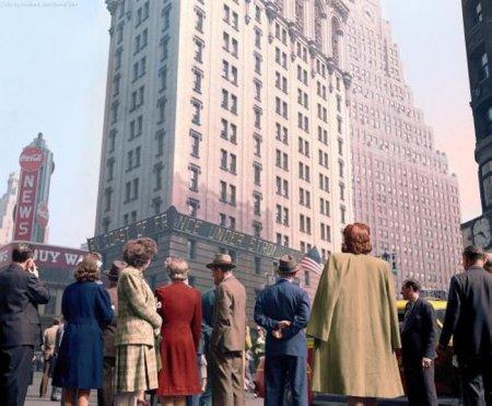1944 г., Чикаго. День высадки в Нормандии