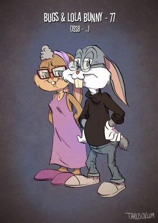 Buggs & Lola Bunny – 77 (1938 – …)