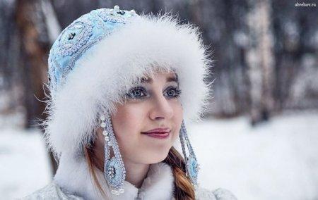 снежные сережки