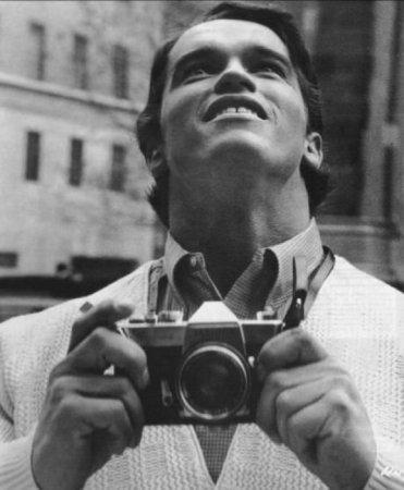 Арнольд Шварценеггер первый раз в Нью-Йорке, 1968.