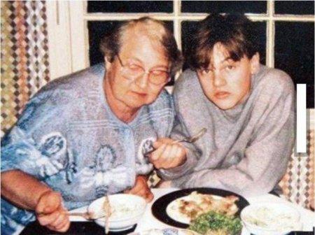 Леонардо Ди Каприо и его русская бабушка из Перми - Хелен Инденбиркен (урожденная Елена Смирнова).