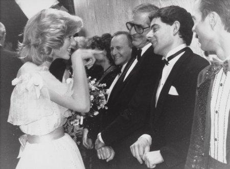 Принцесса Диана обрадовалась мистеру Бину, 1984