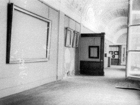 Государственный Музей Эрмитаж в дни блокады Ленинграда, 1941 г.